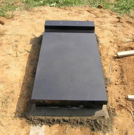 как установить памятник на могилу